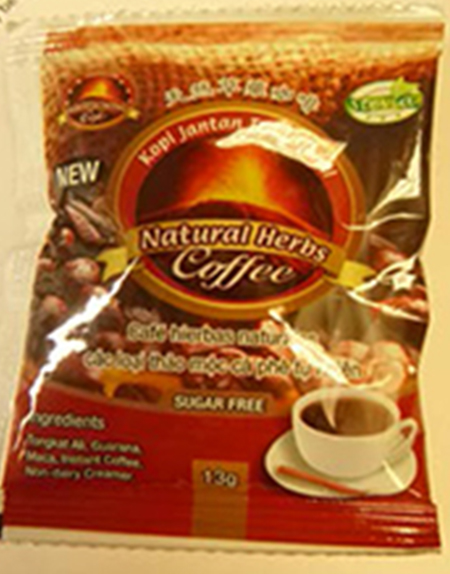 New of Kopi Jantan Tradisional Natural Herbs Coffee (That's the name)