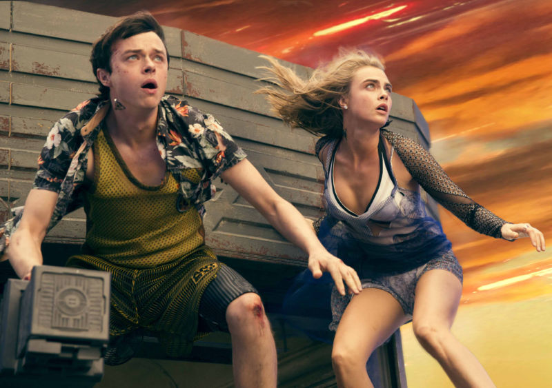 Spectacular visuals, cheerfully silly tone rescue Valerian film