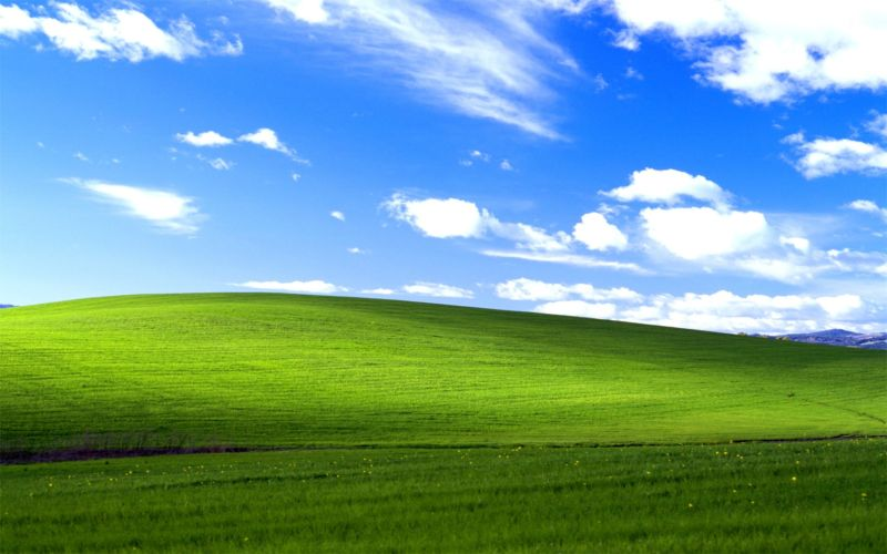 Appropriately enough, I don't see the Blizzard Launcher on this familiar Windows XP desktop image...