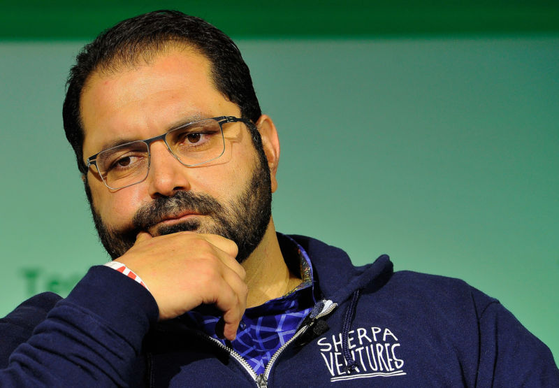 Shervin Pishevar, seen here in 2014, has asked Benchmark to drop its lawsuit against Uber's former CEO, Travis Kalanick.