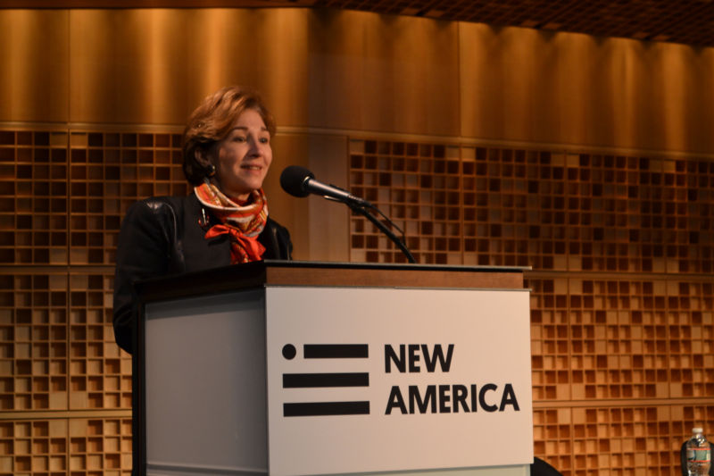 New America Foundation President Anne-Marie Slaughter.