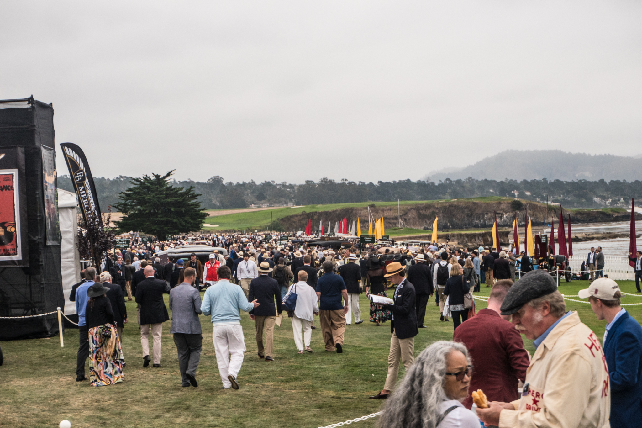 They tell me that this place is famous for golf. I wouldn't know anything about that, but it has been the home of an amazing car event since the 1950s.