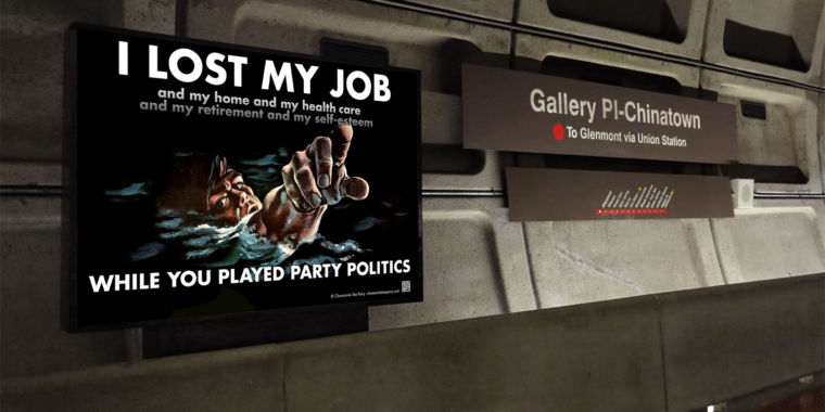 photo image DC's transit agency rejected ads touting the First Amendment (really)