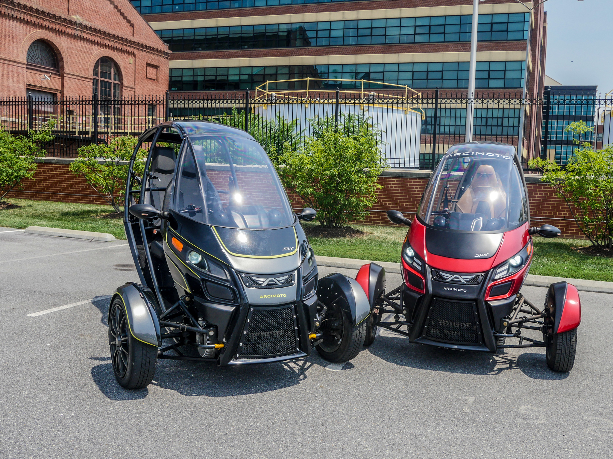 This three-wheel EV is still the most fun thing we've driven all year