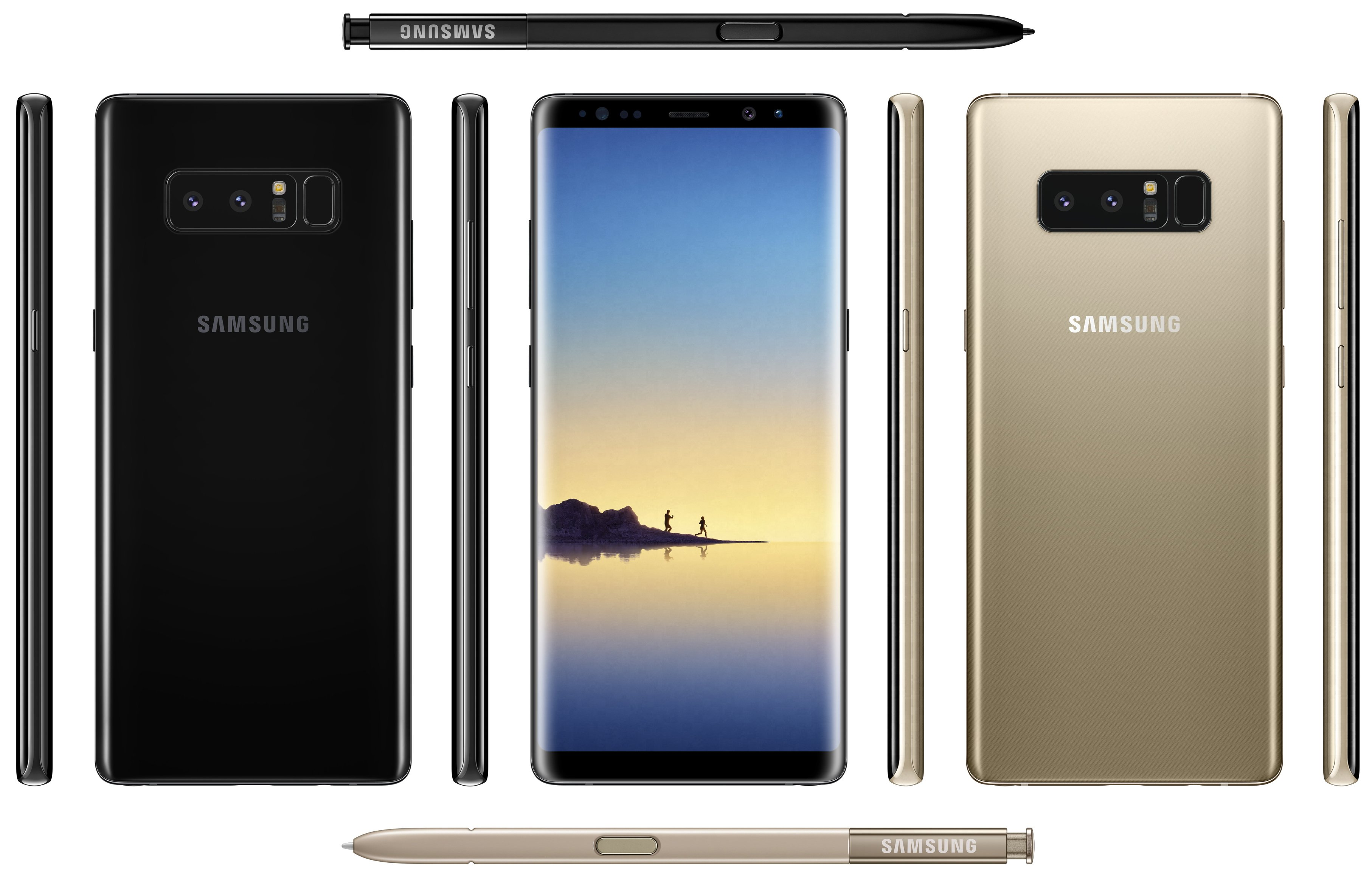 Enlarge The Galaxy Note 8 Press Image Check Out Those Cameras