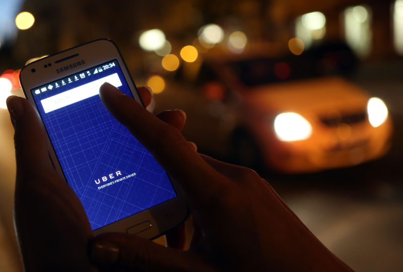 Woman: My Uber driver went wrong way, I said something, he pushed me out