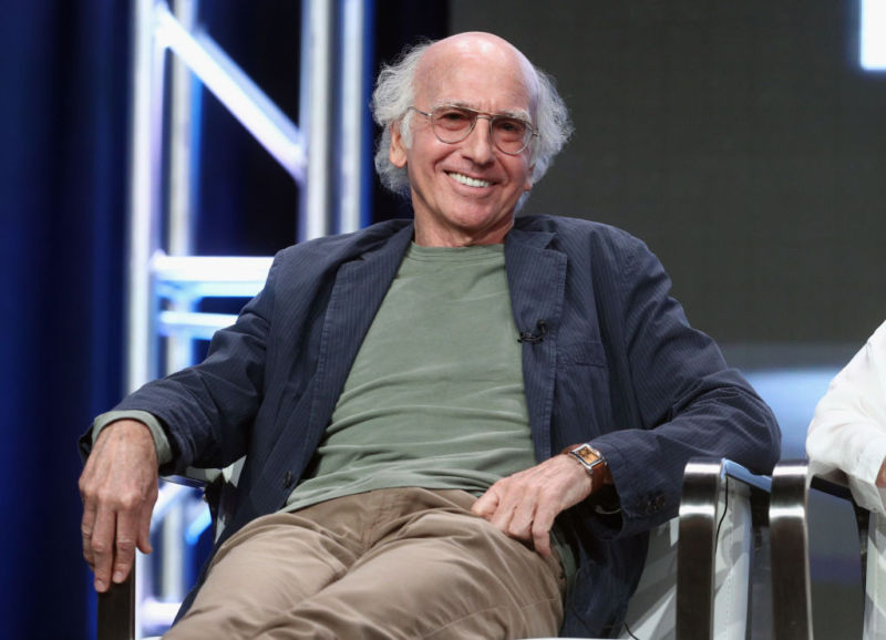 Larry David likely doesn't think the hacks are <a href=