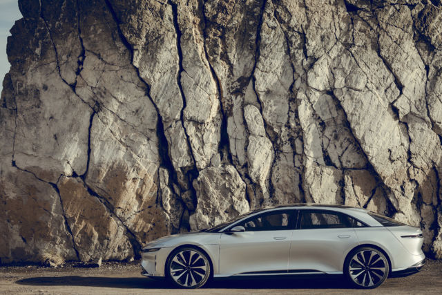 We wrote about Lucid's Air last year... the company seems like a legitimate Tesla competitor but remains on the hunt for funding.