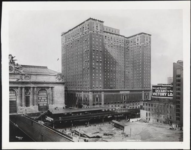 The Hotel Commodore in New York City during the 1920s. It was here that the first experiments were done with custom video delivery in the 1970s.