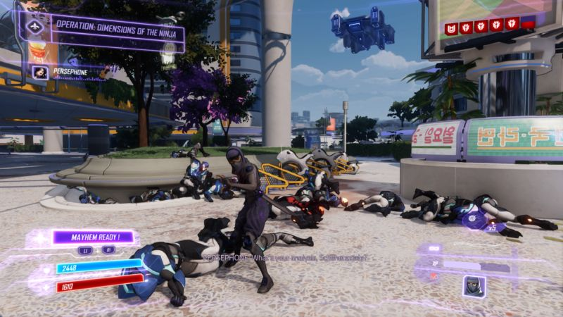 Agents of Mayhem review: Destroying a really dull open world