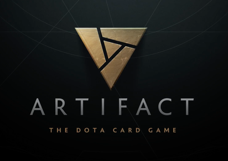 Enlarge  Want more info on Valve's upcoming card-battling game Artifact? Too bad! All you get for now is this