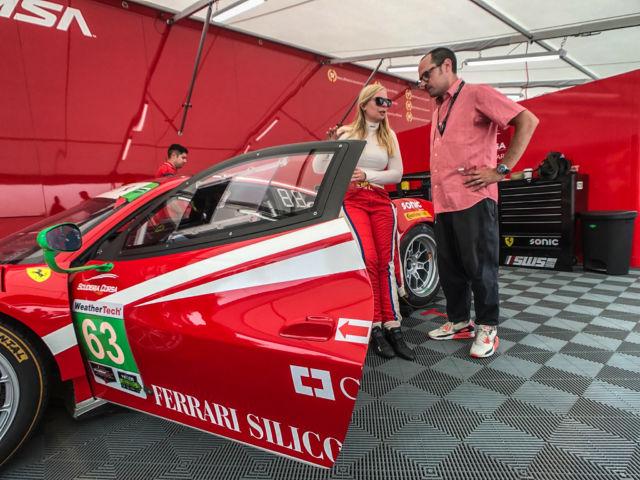Up Close And Personal With Scuderia Corsa S Ferrari 488 Gt3 Race Car Ars Technica
