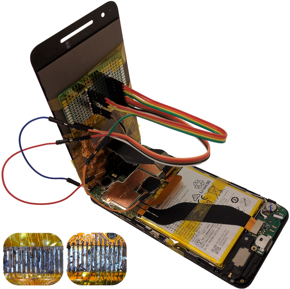 Secret Chips In Replacement Parts Can Completely Hijack Your Phones Telephone Wiring Accessories Enlarge