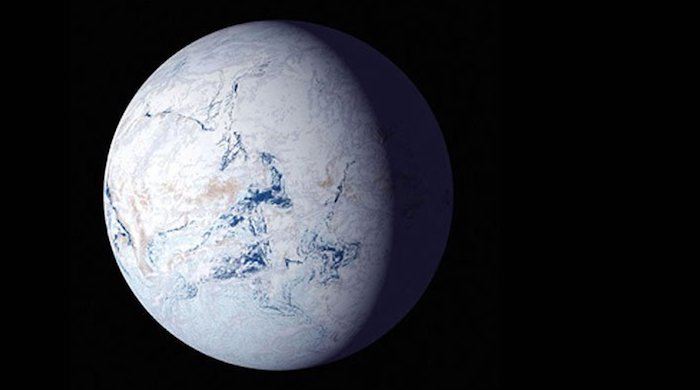 About 650 million years ago, the Sturtian ice age turned our planet into Snowball Earth. When the planet warmed again, it was plunged into a hothouse phase that unleashed phosphates, oxygen, and other elements necessary to build multicellular life.