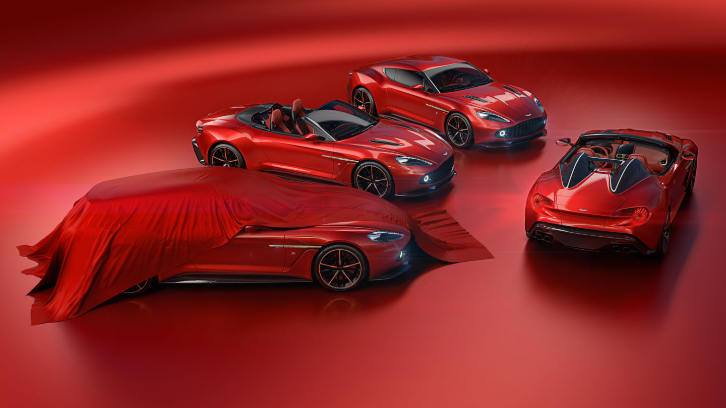Aston Martin Zagato Speedster and Shooting Brake Announced