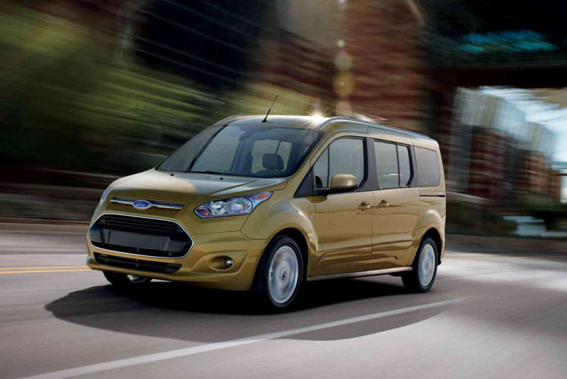 "The ""driverless car"" in question looked similar to this one—it was a 2017 Ford Transit Connect."