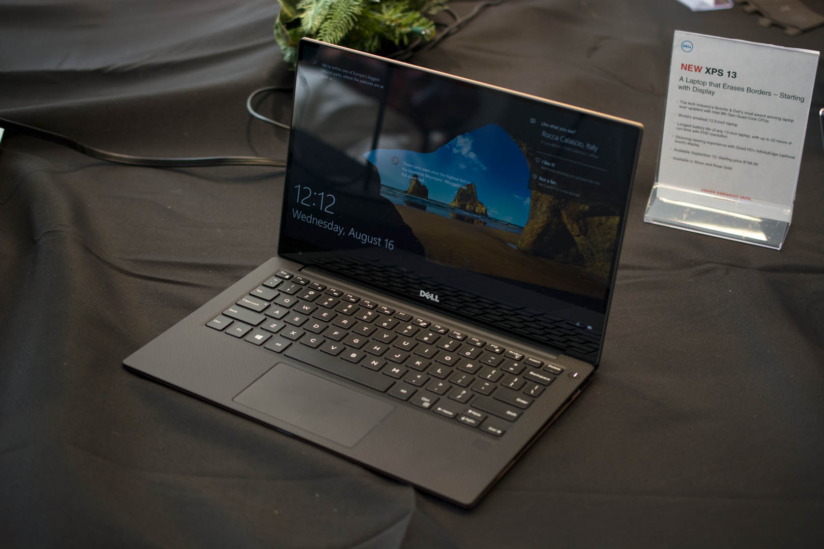 The XPS 13 (9360)'s design is a bit stale, but it does include a USB-A port.