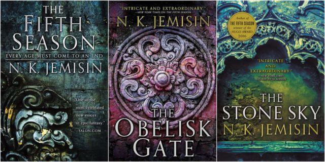 TNT just announced that it will turn the Broken Earth trilogy into a series. These are the three novels in the series.