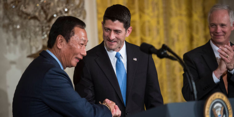 Wisconsin lawmakers vote to pay Foxconn $3 billion to get new factory