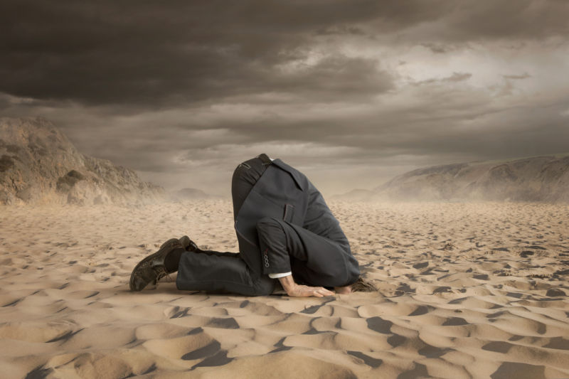US government burying head deeper in sand on climate change
