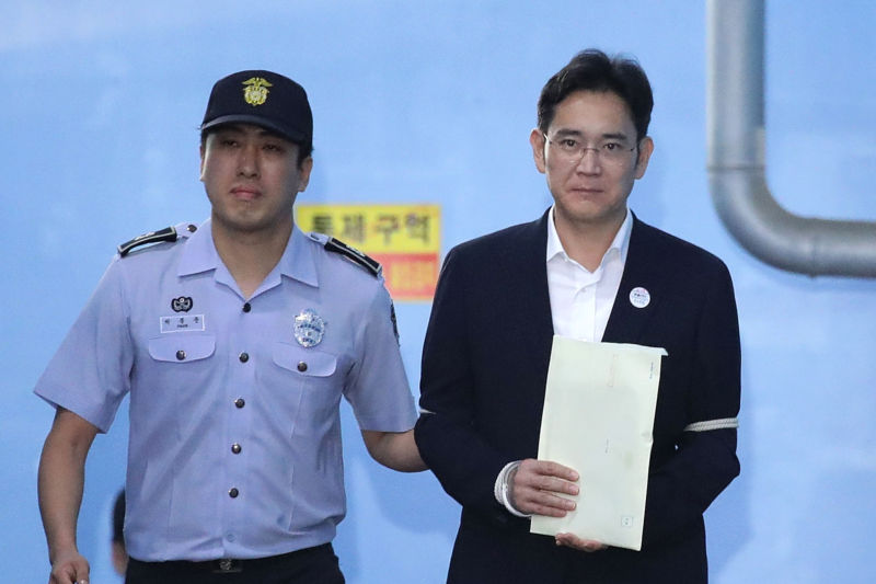 Samsung heir Lee Jae-yong didn't have a good year, and that may soon help inspire a new TV series.
