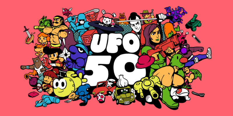 UFO 50 Is A Collection Of 50 Indie Games