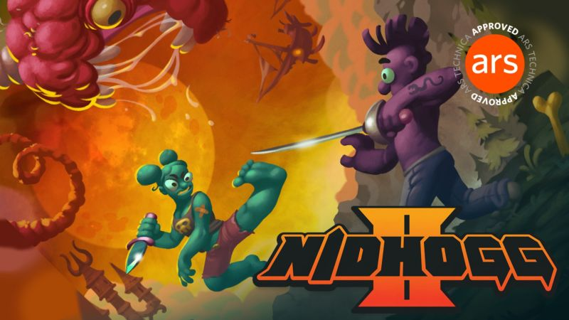 Nidhogg 2 review: Violent, disgusting, and hilariously fun