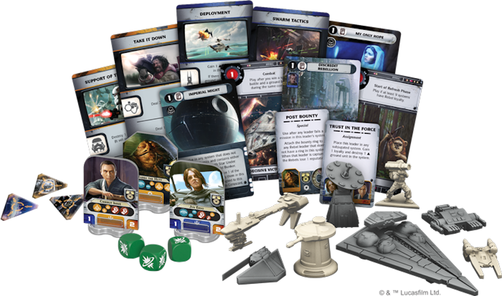 Image result for star wars rebellion pieces