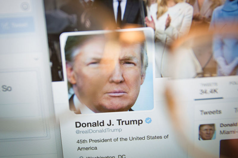 Trump's Twitter blocking violates First Amendment, court rules