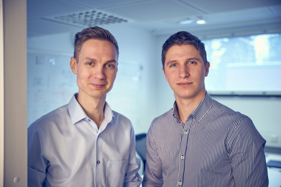 ICEYE Founders, Pekka Laurila (COO) and Rafal Modrzewski (CEO).