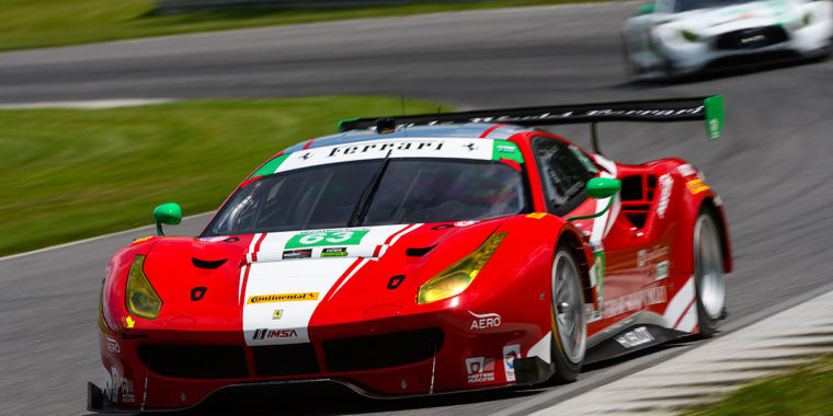 photo image Up close and personal with Scuderia Corsa's Ferrari 488 GT3 race car