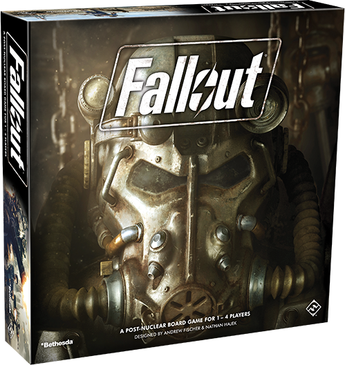 Is it better to be alone than in bad company? We'll find out once we learn more about the co-op specific parts of the Fallout board game in