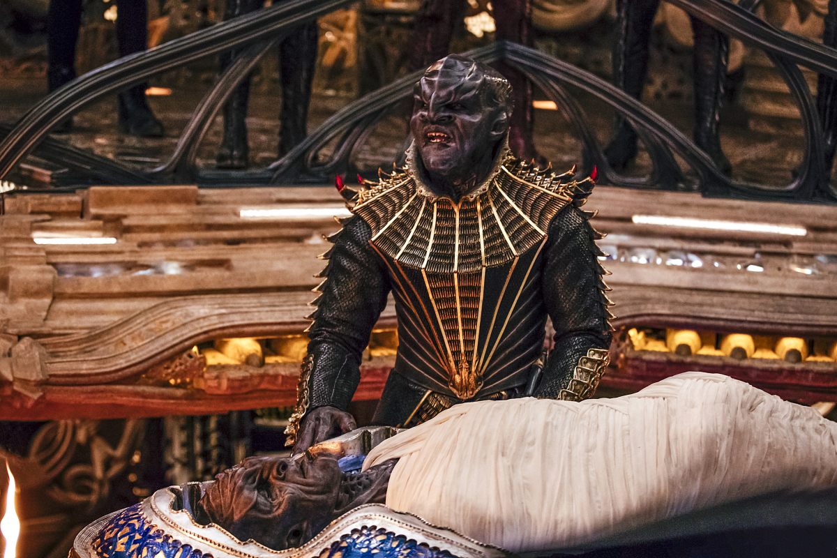 Chris Obi as T'Kuvma.