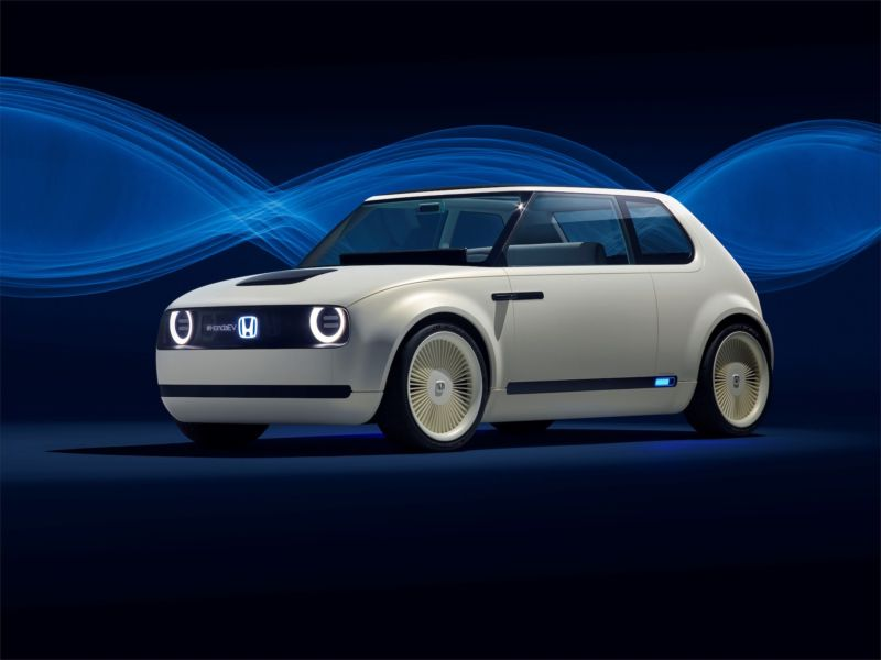 The Honda Urban EV is a charming-looking thing.