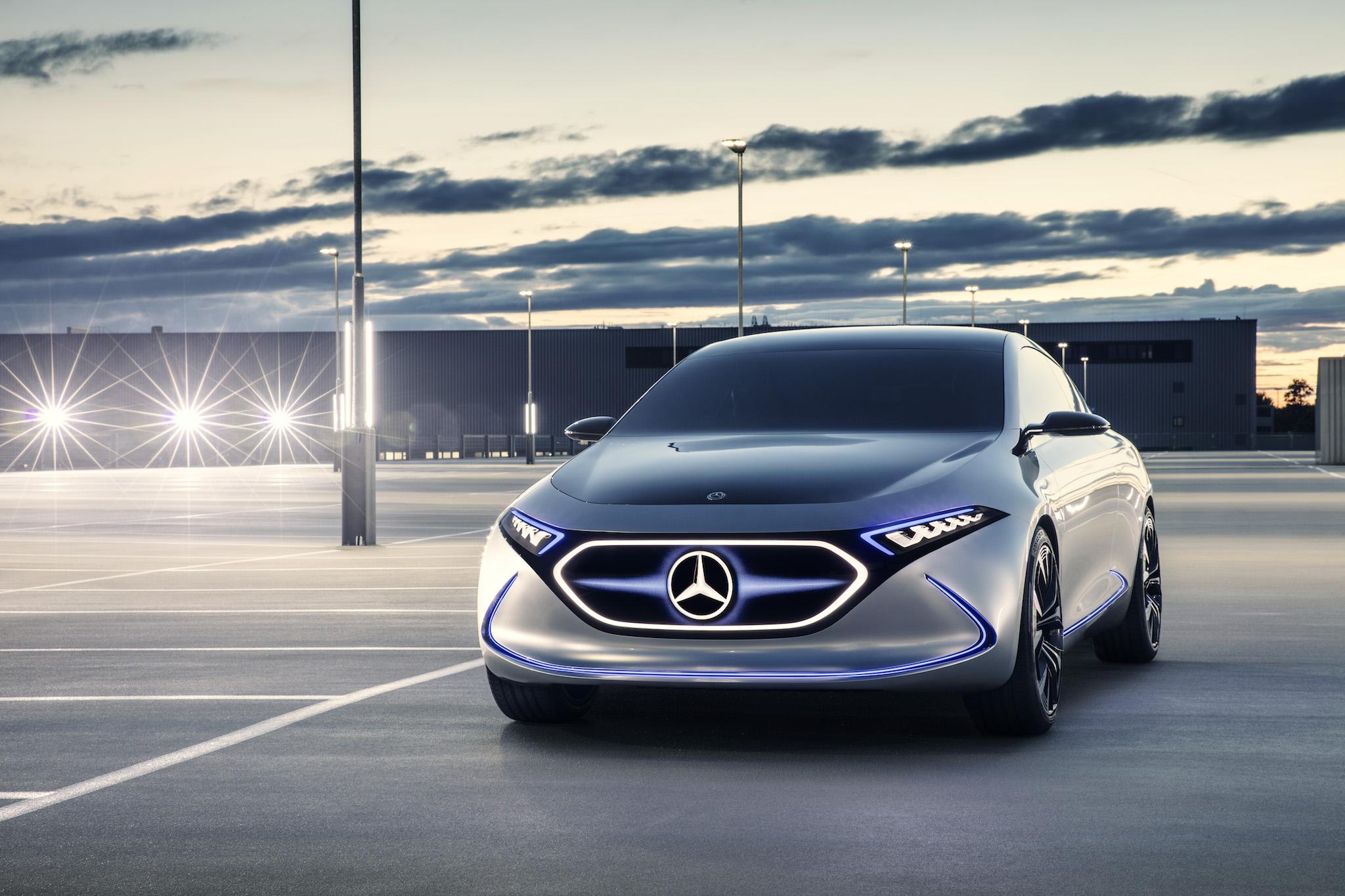 Mercedes-Benz's EQA concept.