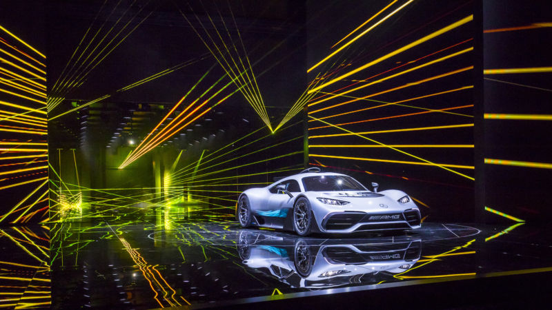 The Mercedes-AMG Project One is basically a road-legal F1 car