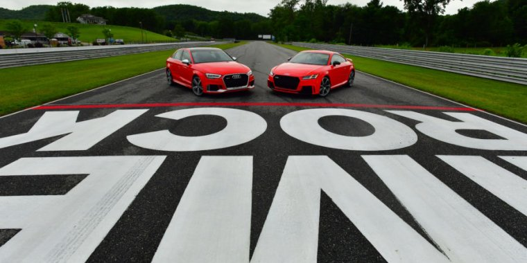 Audi Sport's RS3 and TT-RS: The same engine but very different cars