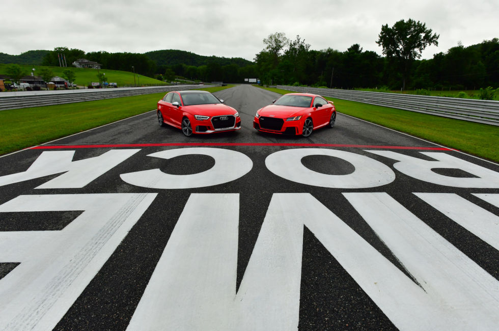 Audi Sport's RS3 and TT-RS: The same engine but very