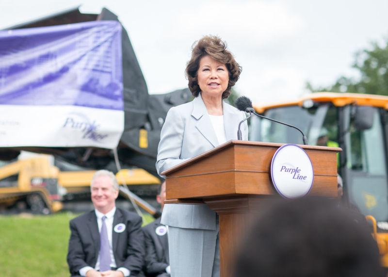 Secretary of Transportation Elaine Chao.