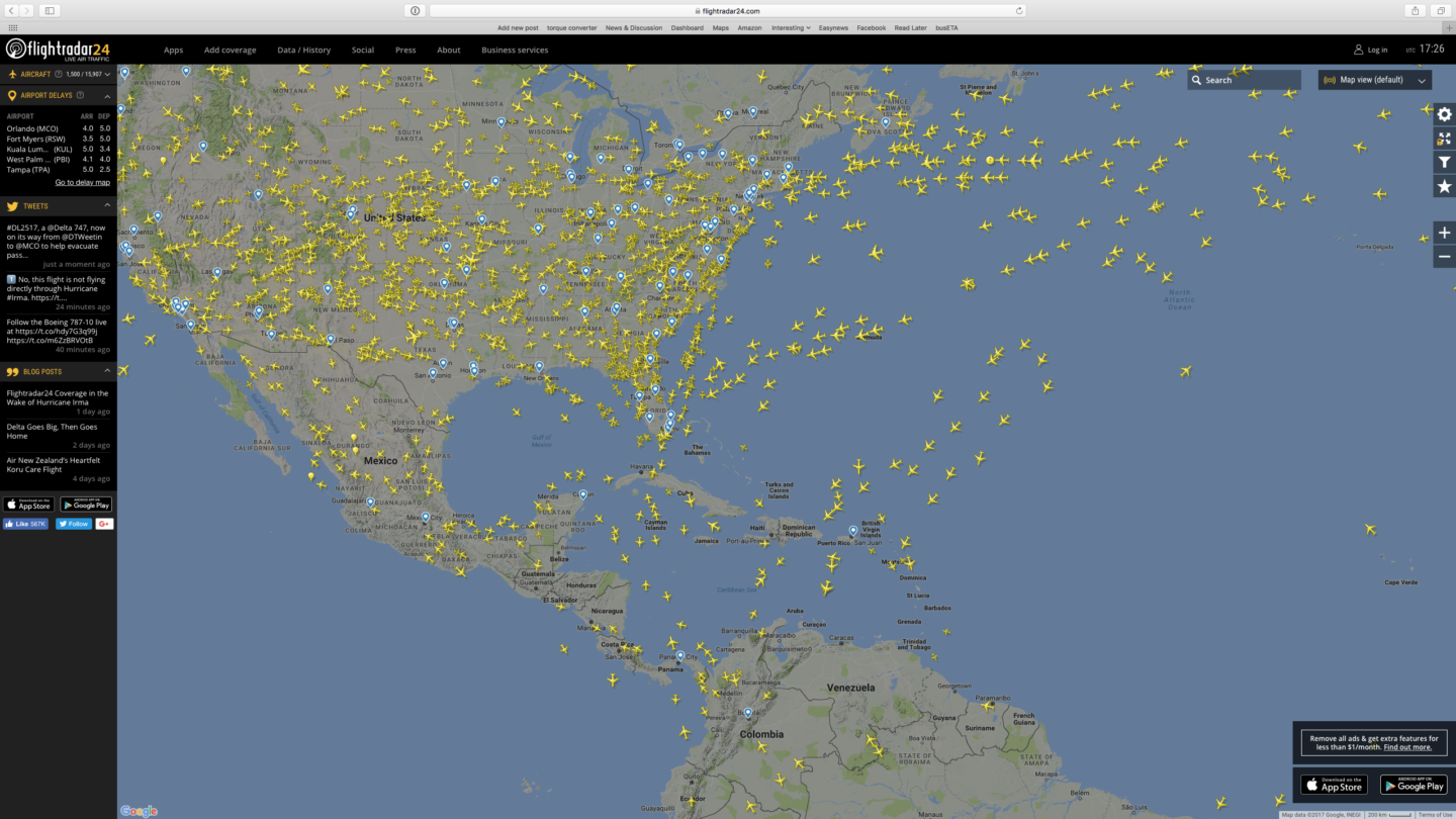 Air-traffic-around-the-gulf-and-caribbea