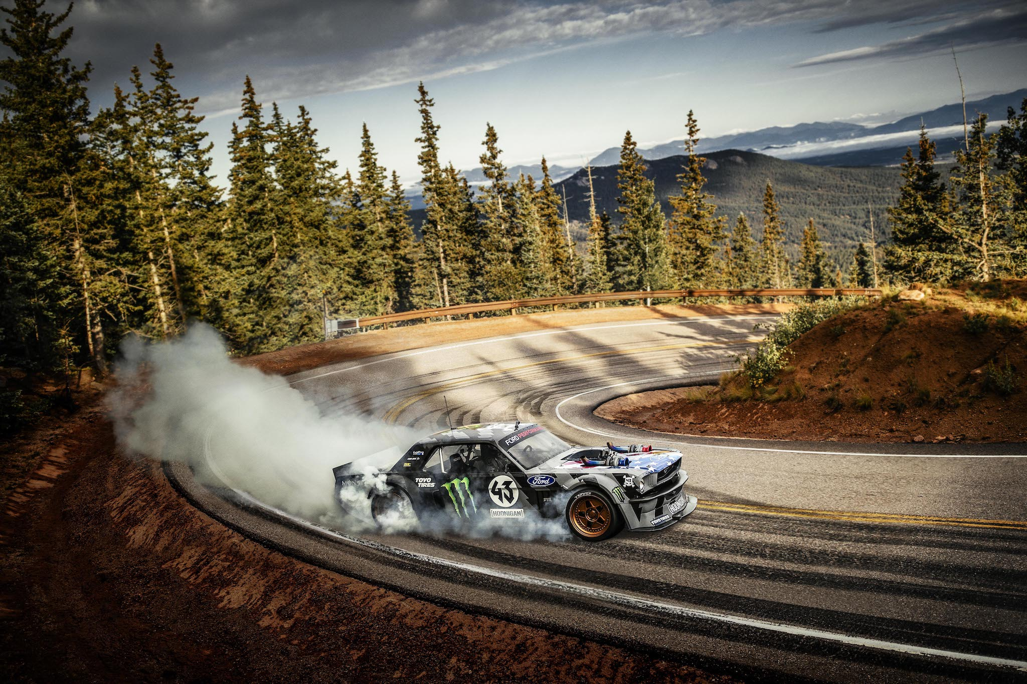 Ken Block S Latest Insane Drifting Video Takes Place On