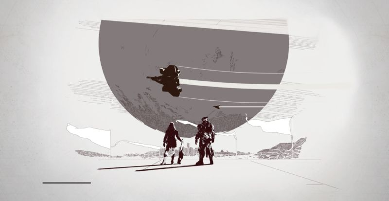 When you boot <em>Destiny 2</em>, you'll see various vignette shots that detail past adventures, depending on whether you played the original series.