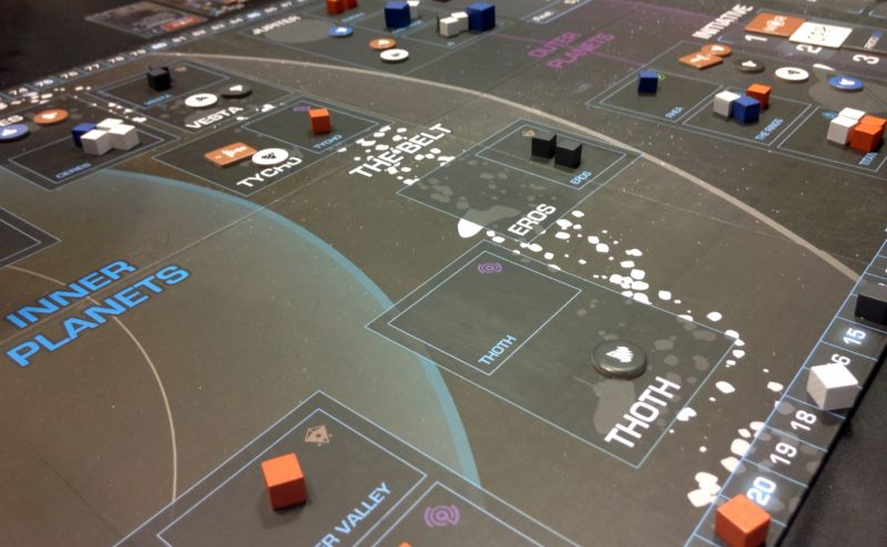 Review: Dominate the solar system in The Expanse board game