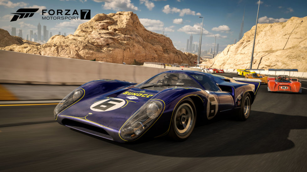 <em>Forza 7</em> Mountain Pass 4K