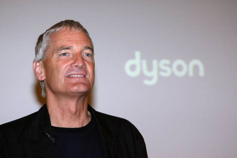 "James Dyson at the ""James Dyson Award 2007"" ceremony in Berlin. (Photo by Franziska Krug/Getty Images)"