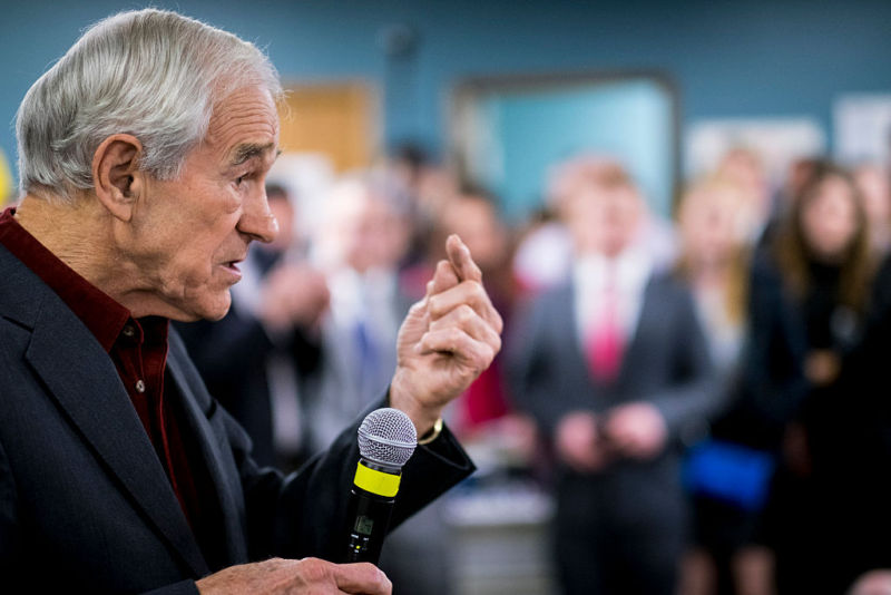 Former Congressman Ron Paul: Not a fan of SpaceX.