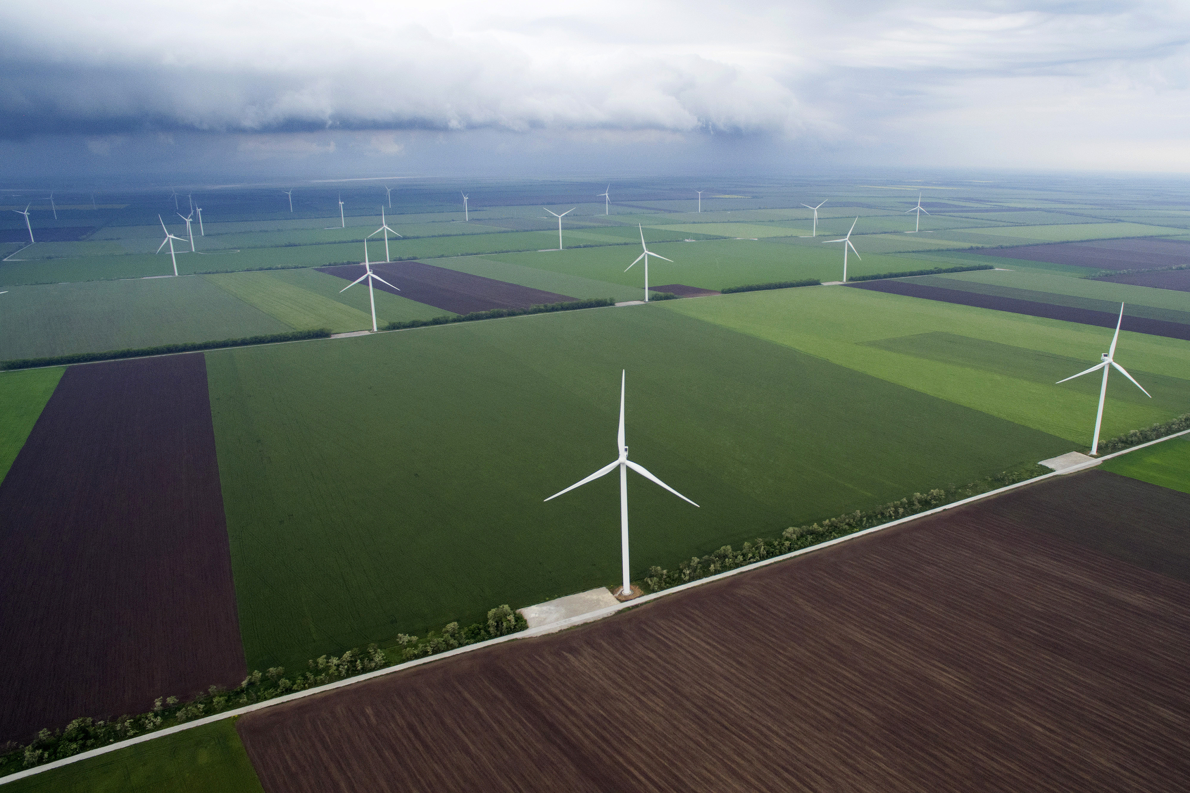 Wind turbine manufacturers are dipping toes into energy storage