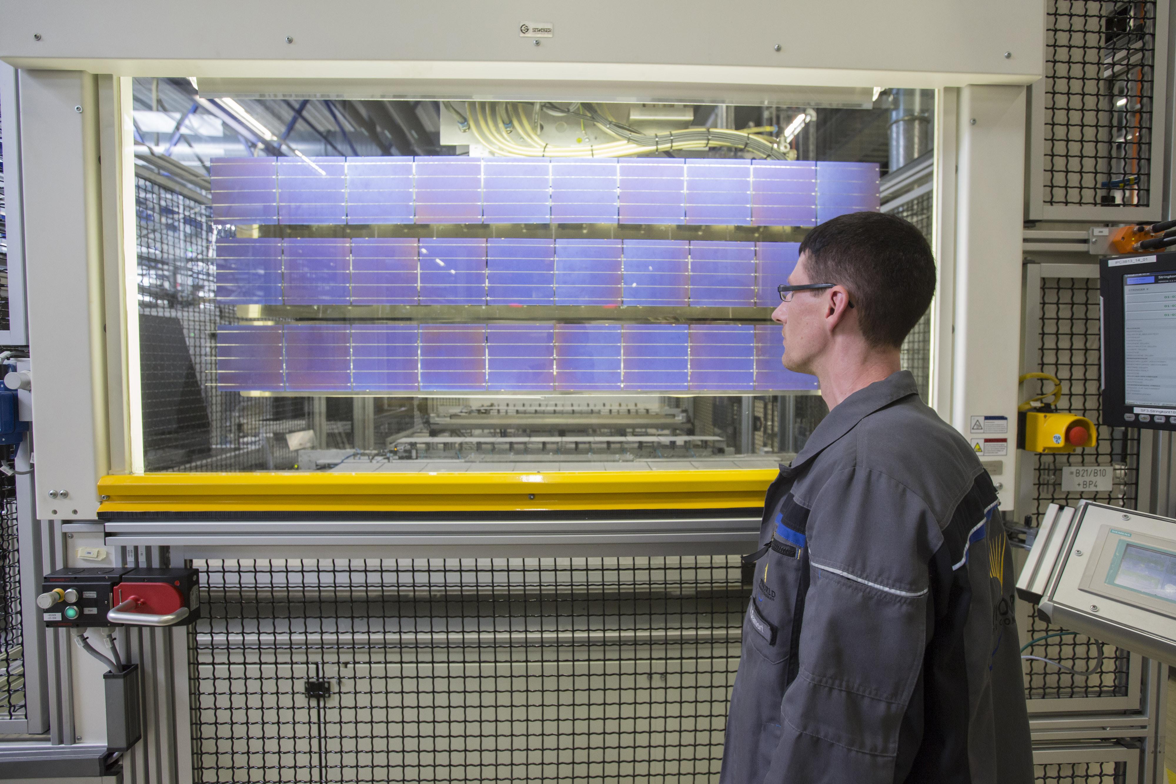 Solar Panel Maker Wins Trade Commission Finding Tariff