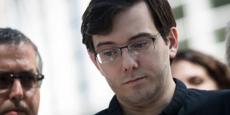 photo image Martin Shkreli is headed to jail