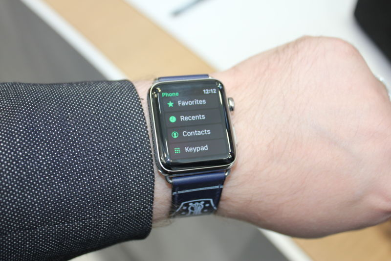 Enlarge  You can now make calls from your Apple Watch without the phone nearby
